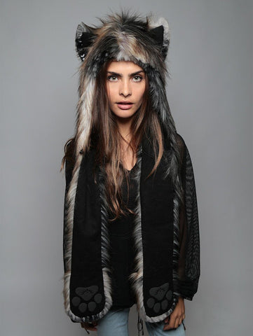 Northern Rocky Mountain Wolf SpiritHood