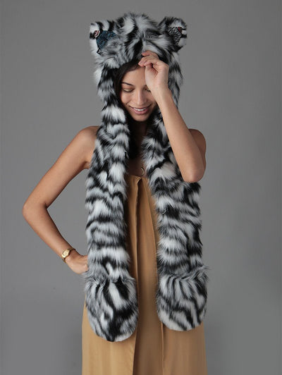 White Tiger Collector Edition SpiritHood - SpiritHoods