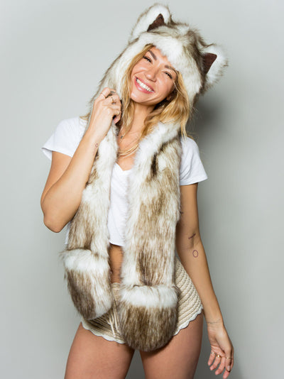 Brown Husky Collector Edition SpiritHood - SpiritHoods