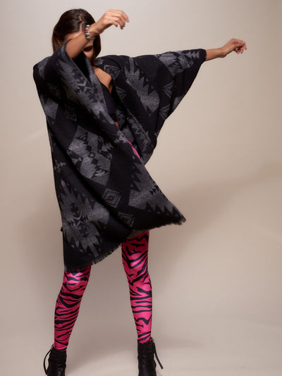 Night Fox Poncho - SpiritHoods