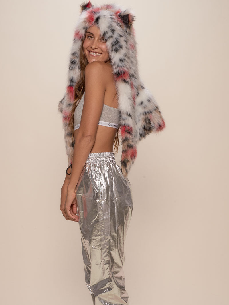Strawberry Leopard Collector Edition Shawl - SpiritHoods
