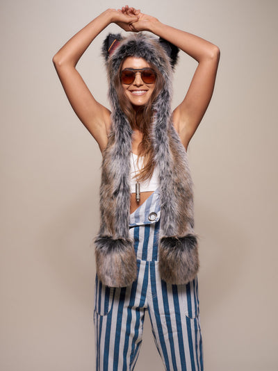 Grey Wolf Sedona Collector Edition SpiritHood - SpiritHoods