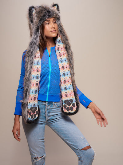 Unisex Grey Wolf Collector Edition SpiritHood - SpiritHoods