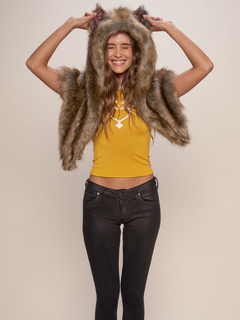 Iberian Wolf Collector Edition Shawl - SpiritHoods