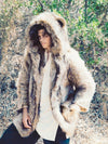 Grizzly Faux Fur Coat - SpiritHoods