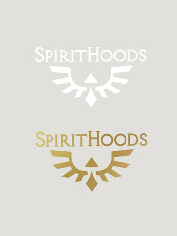 Gold + White SpiritHoods Phoenix Decal Pack