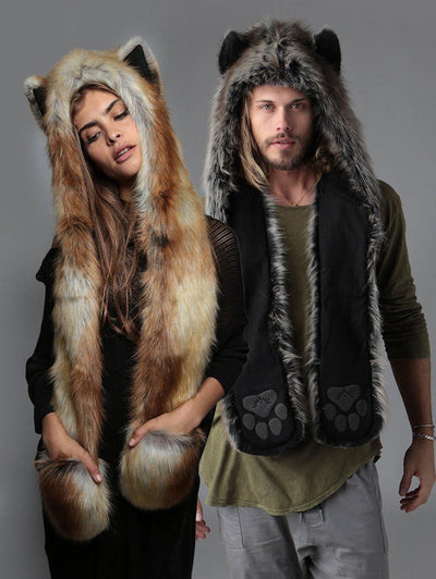 Grey Wolf + Red Fox Bundle - SpiritHoods