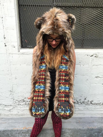 Brown Bear Collectors Edition SpiritHood