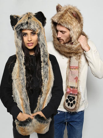 Coyote Italy + Red Wolf  Bundle *Unisex*