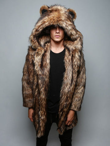Grizzly Faux Fur Coat