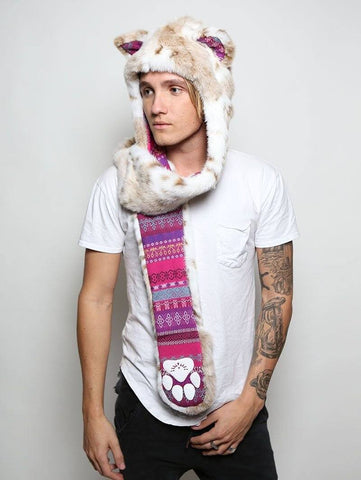 Siberian Snow Leopard Collector SpiritHood