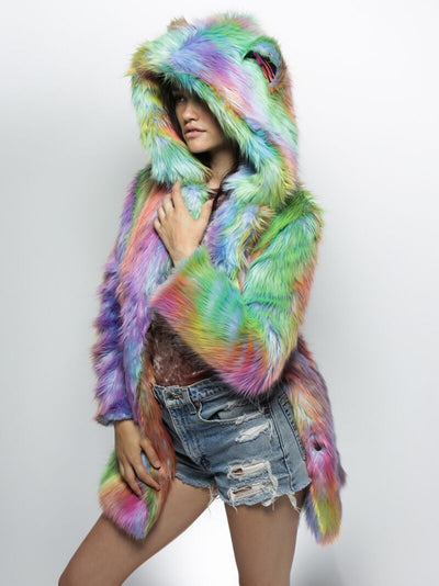 Limited Edition Fair Bear Faux Fur SpiritHood Coat - SpiritHoods