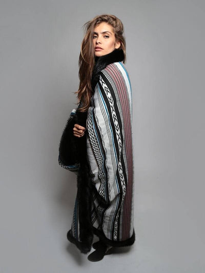Black Mink Baja Throw - SpiritHoods