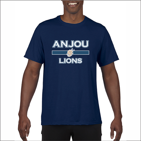 Anjou Lions T-shirt performance ADULTE seulement