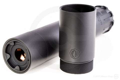 RUGGED SUPPRESSORS OBSIDIAN 45 - Black - Waymore Silencers