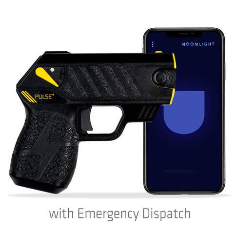 Taser Pulse+ Plus (Black) with Emergency Dispatch - Waymore Silencers