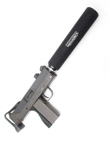 BOWERS VERS 9 SS/BLK Waymore Silencers Houston Texas