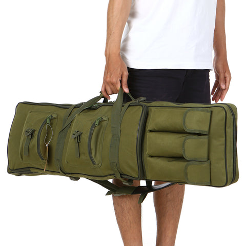 Tactical Gun Bag Outdoor Military Hunting Bag Padded Barrel Carrying Gun Bag Case with Shoulder Sling Strap