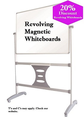 Revolving parrot products magnetic whiteboards
