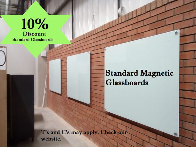 Standard magnetic parrot products glassboard