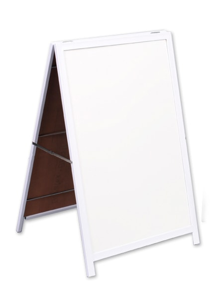 A Frame Whiteboard Non Mag Steel Frame 900*600mm