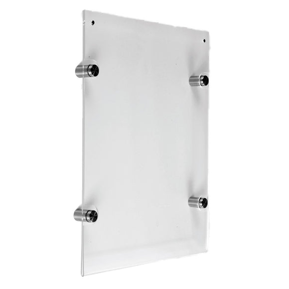 Acrylic Certificate Holder Wall Mounted A 4