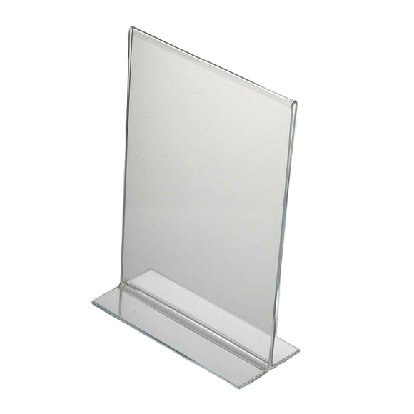 Acrylic Menu Holder Double Sided A 5 Portrait