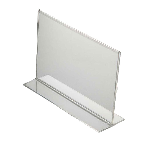 Acrylic Menu Holder Double Sided A 6 Landscape