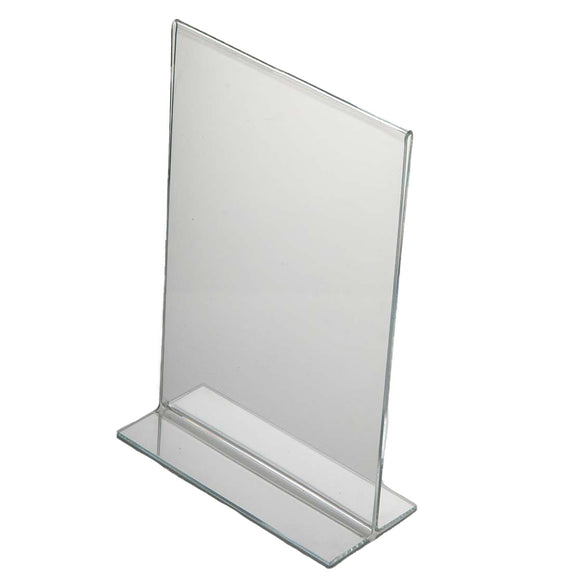 Acrylic Menu Holder Double Sided A 6 Portrait