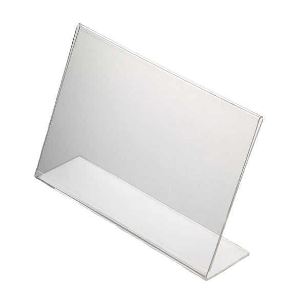 Acrylic Menu Holder Single Sided A 6 Landscape