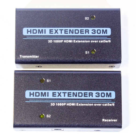 Adaptor Hdmi Extender By Cat 52 6e Cable