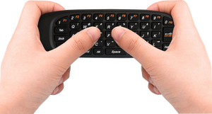 Air Mouse With Wireless Keyboard