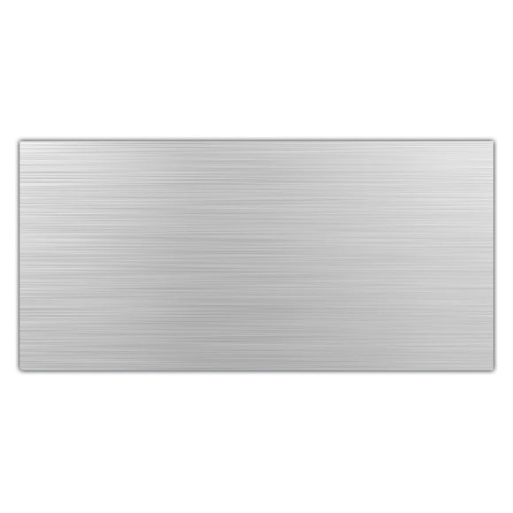 Aluminium Composite Panel 2440x 1220x 3mm Brushed Aluminium