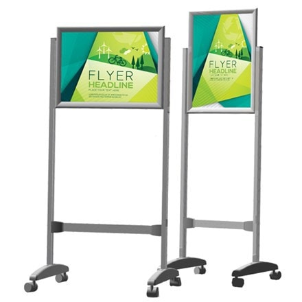 Poster Frame Stand Double Sided A0