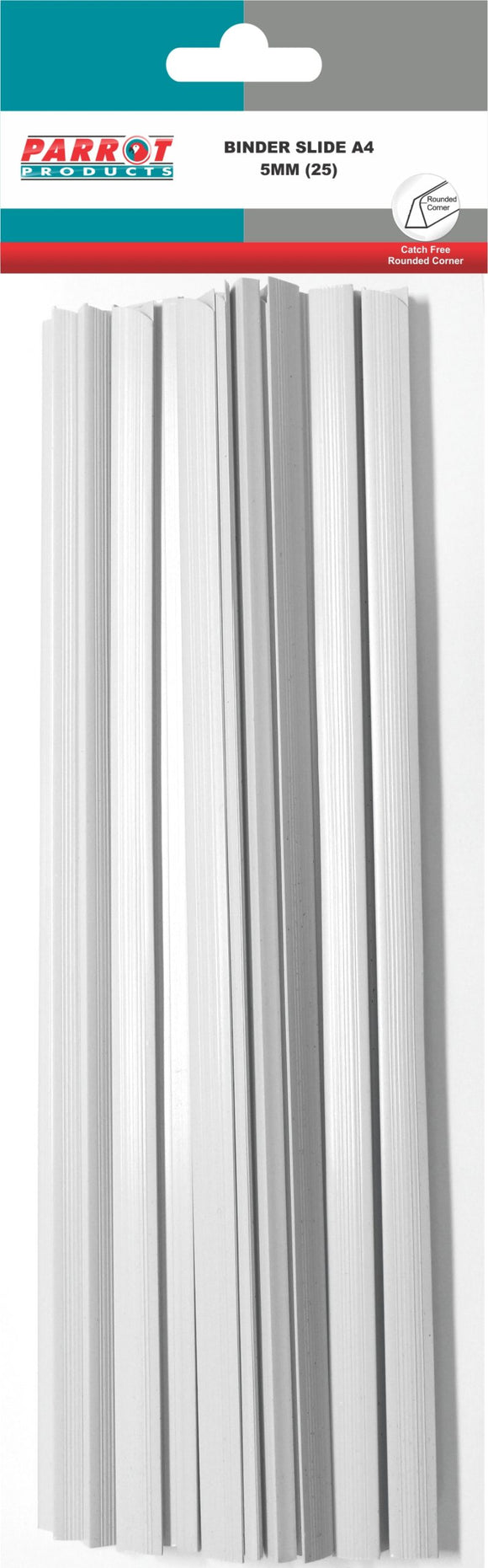 Binder Slide A 4 297 X 7mm White 25