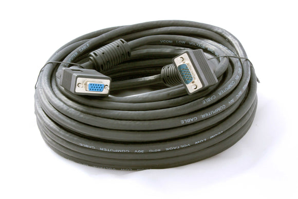 Cable 15 Pin Male To Female Vga 20m