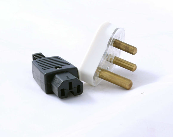 Cable Power Plugs 1 X 3pin 1 X Iec