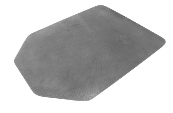 Carpet Protector Non Slip Silver Tapered Rectangle 1200 X 900 X 2 75mm