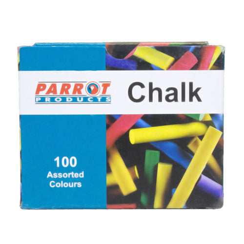 Chalk Dustless Box 100 Assorted