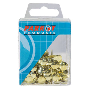 Drawing Pins Brass Pack 100