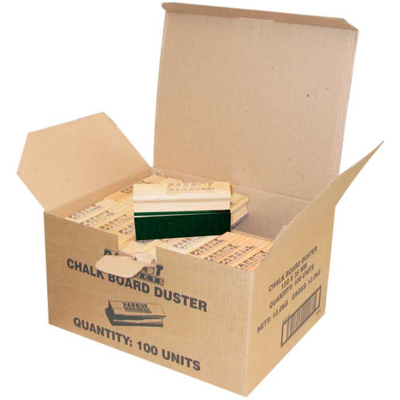 Duster Wood Chalk Board 150 35mm Boxed 100 Green