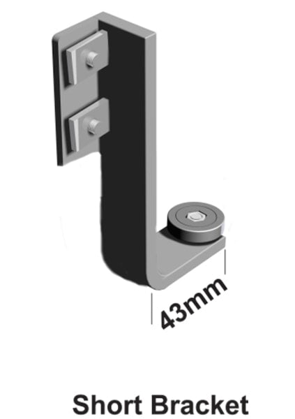Easy Rail Mounting Bracket Set Short