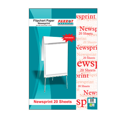 Flipchart Paper Newsprint 50 Sheets 860x610mm