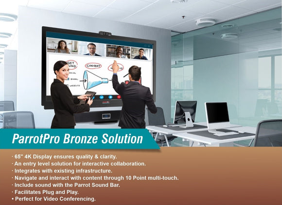 Complete 65 inch Interactive LED Solution