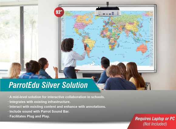 Complete 92 inch Interactive Whiteboard Bundle