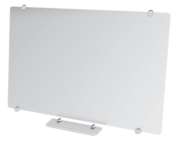 Glass Whiteboard Non-Magnetic 1800 x 1200mm