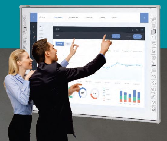 Complete IR30-82S Interactive Whiteboard Eboard Multi-touch Bundle