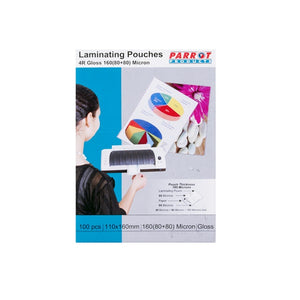 Laminating Pouch 4r 110x160 160(80+80)mic Box100
