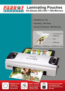 Laminating Pouch A 4 220x 310 200 100 100 Mic Box 100