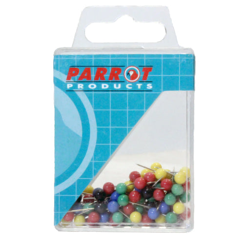 Map Pins Boxed 100 Assorted